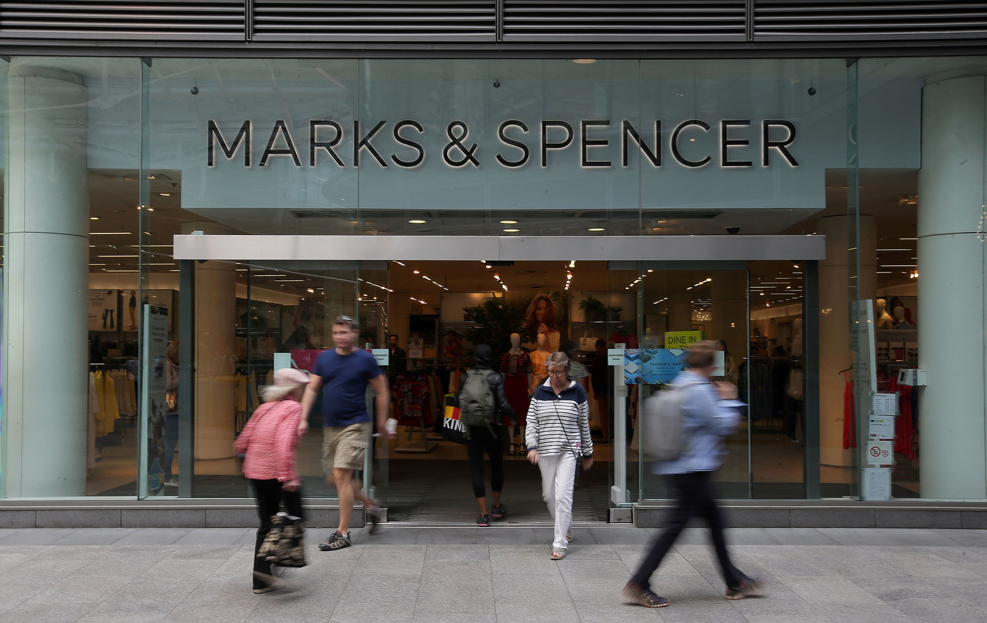 marks and spencer dine in for two returns