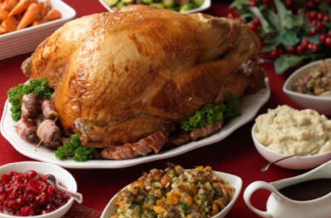 Christmas Turkey.Hairy Bikers Christmas Turkey With Two Stuffings