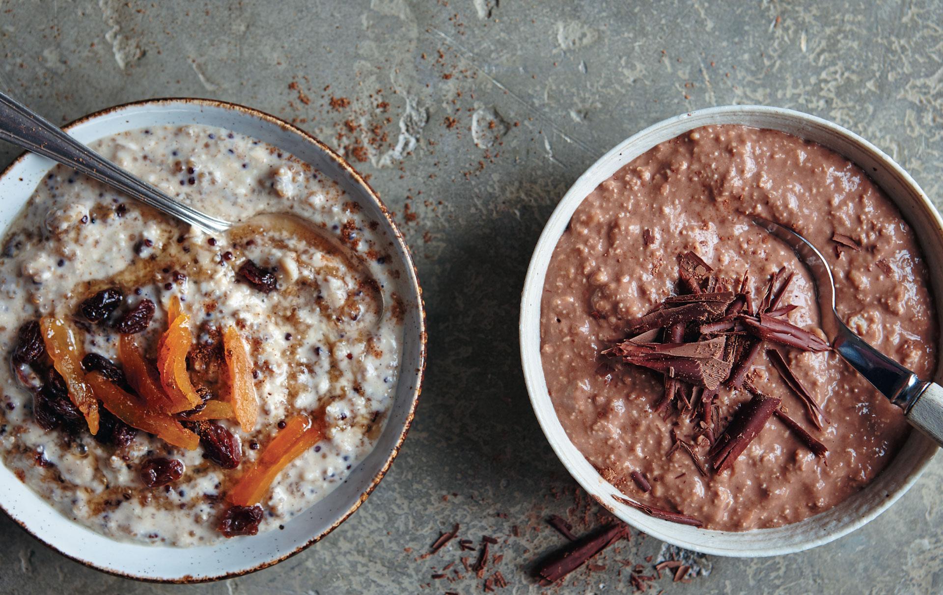 Lean In 15 Banana Chocolate And Quinoa Overnight Oats Breakfast Recipes Goodtoknow