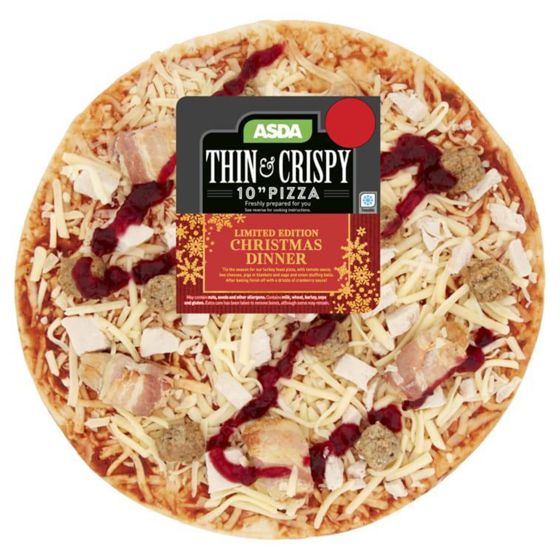 Awe Inspiring Asda Christmas Dinner Pizza Is Back And It Has Divided The Download Free Architecture Designs Scobabritishbridgeorg