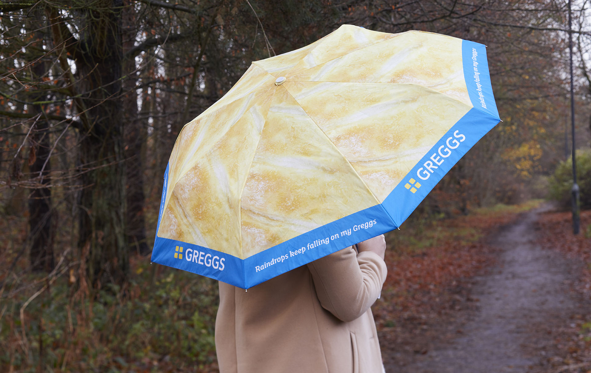 greggs launches festive gift range