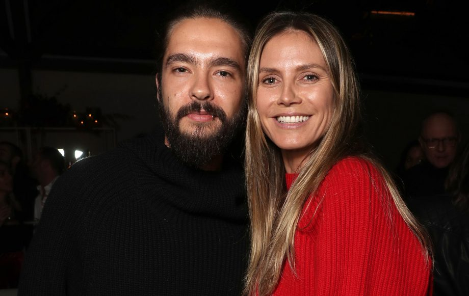 Heidi Klum announces her engagement to boyfriend Tom Kaulitz