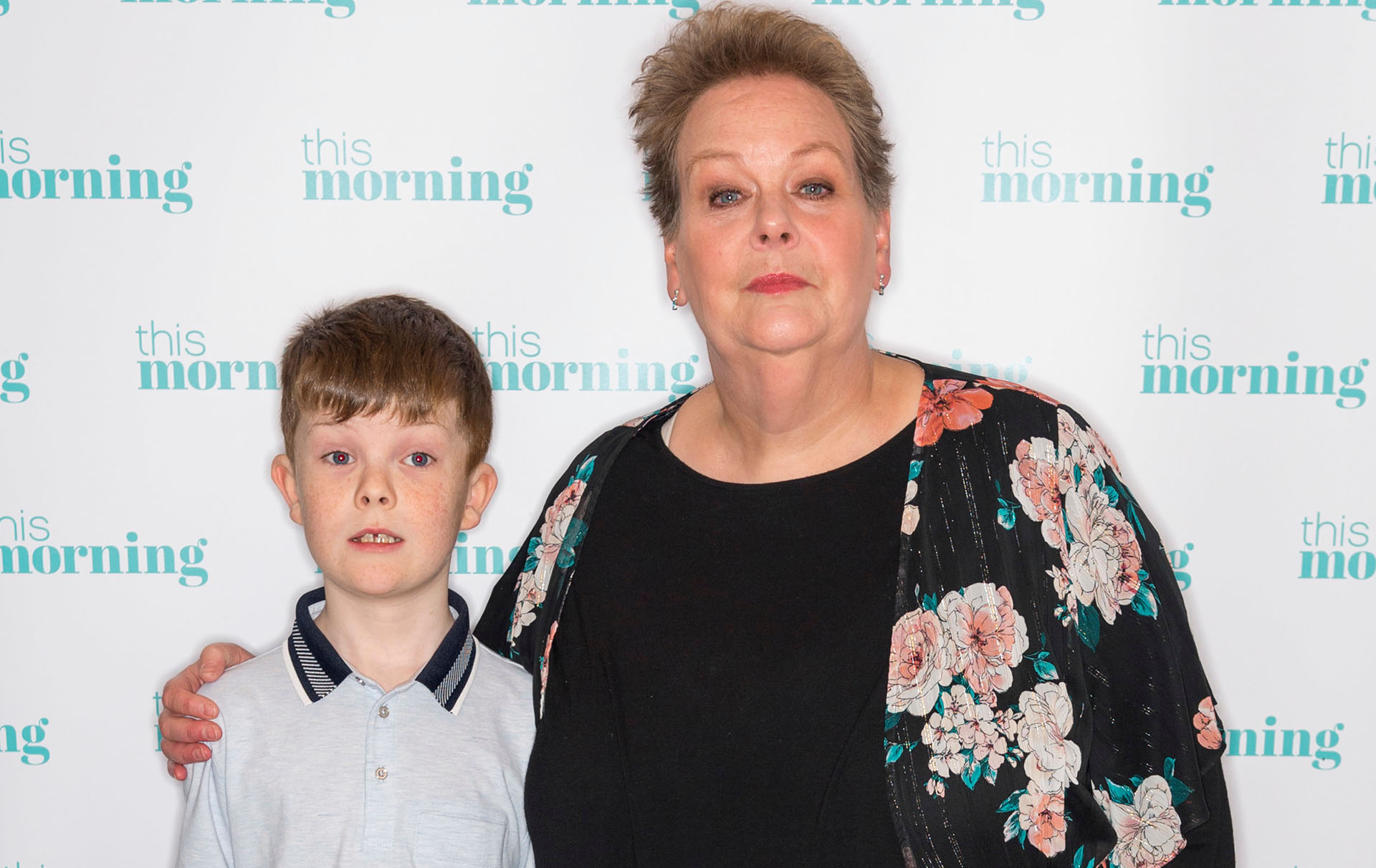 anne hegerty meets autistic boy who wrote letter