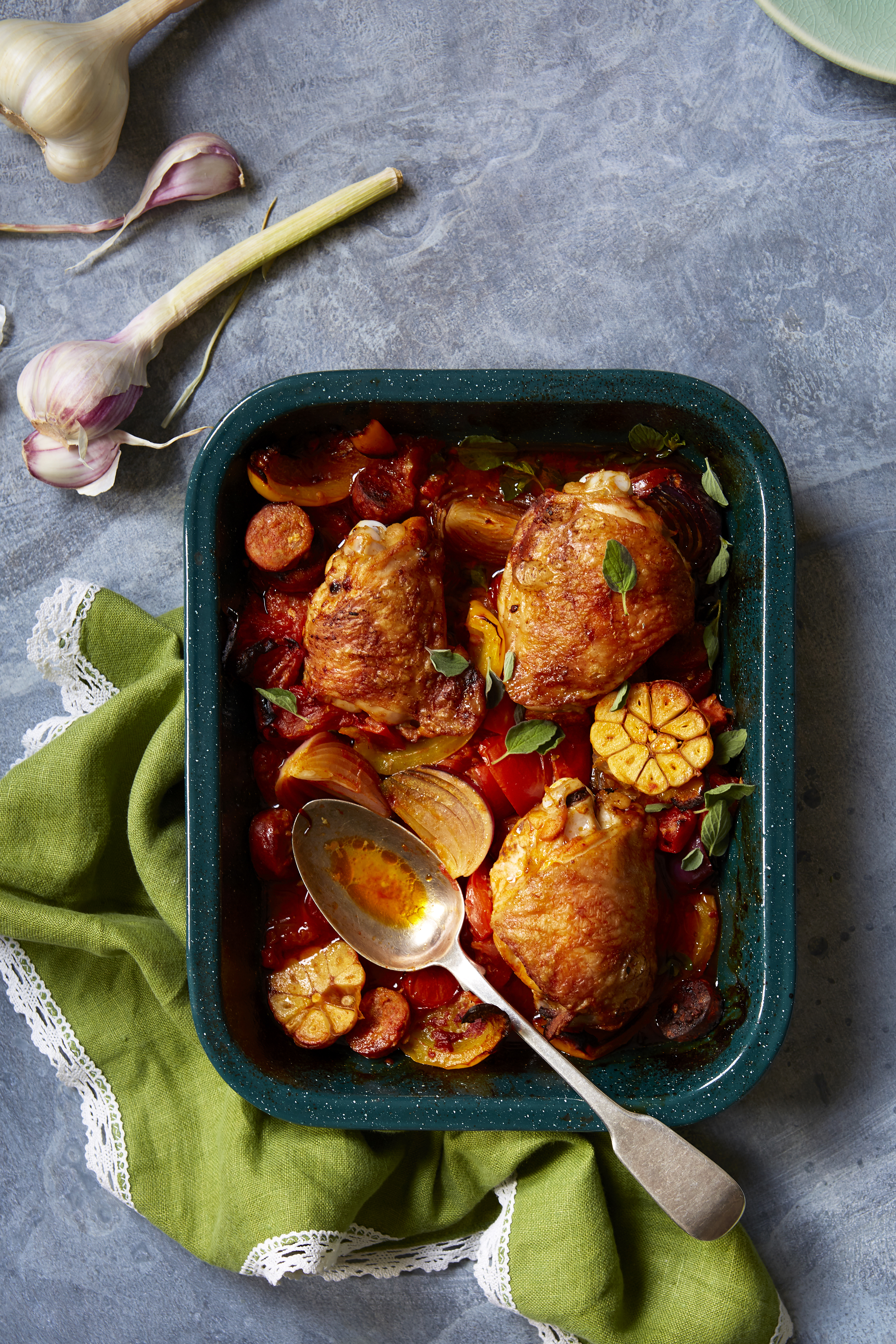 Spicy Chicken Tray Bake | Spanish Recipes | GoodtoKnow