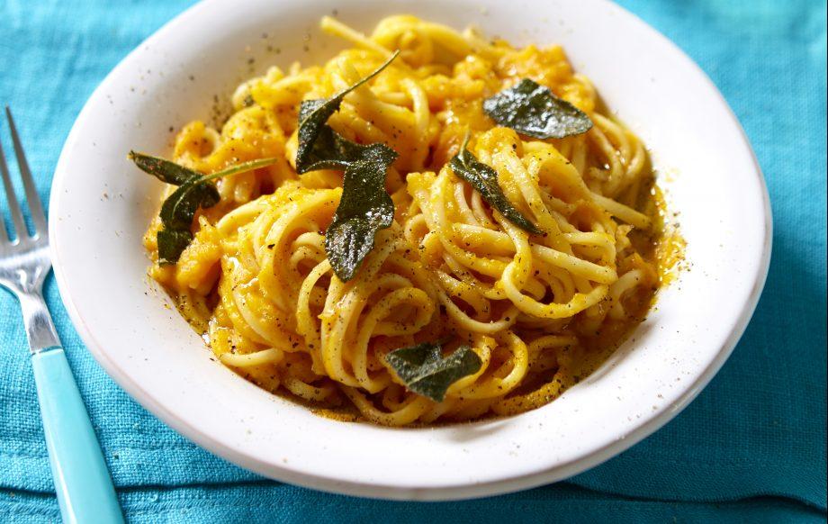 Creamy butternut squash pasta sauce Recipe