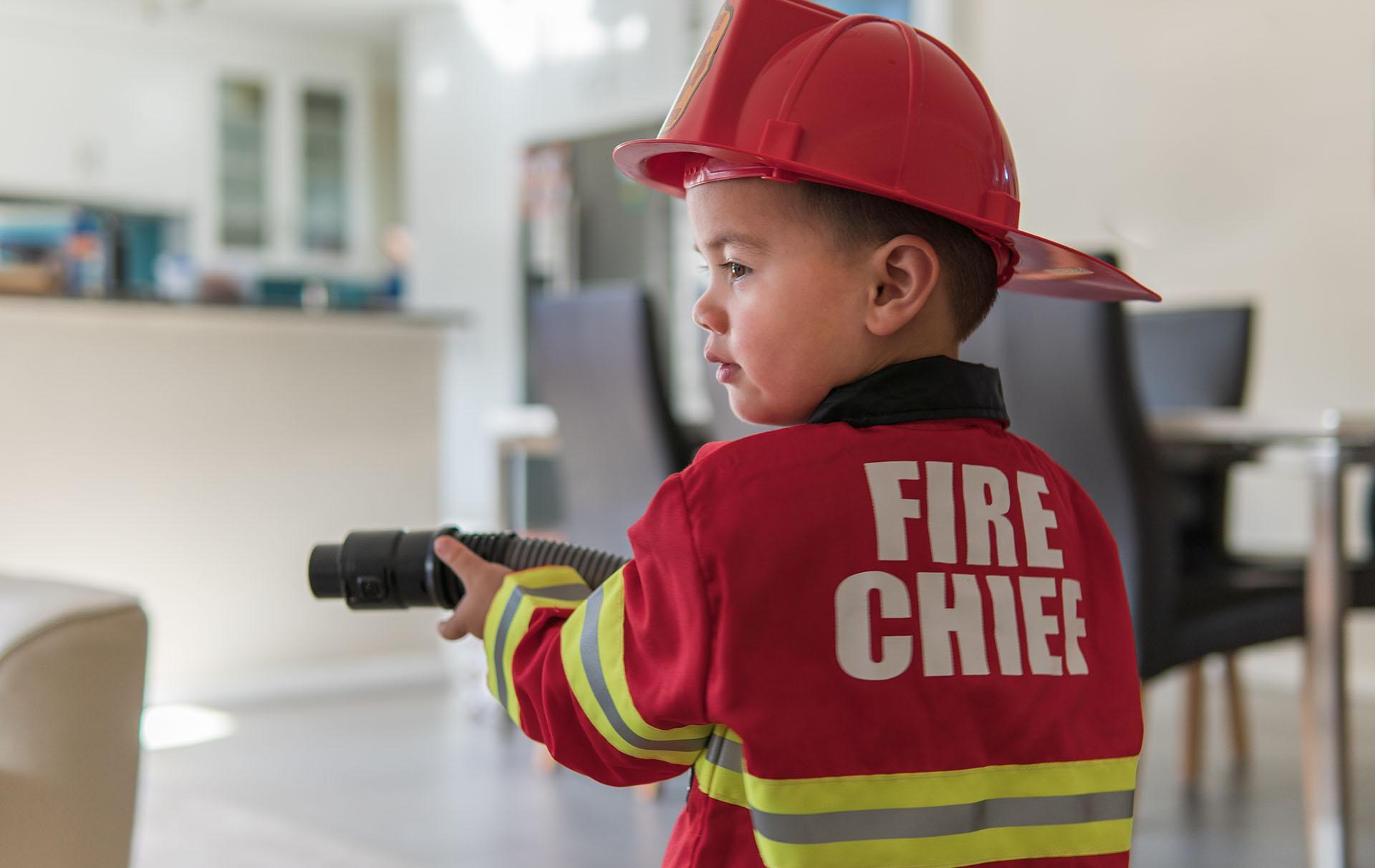 fire service helps boy head stuck toilet seat