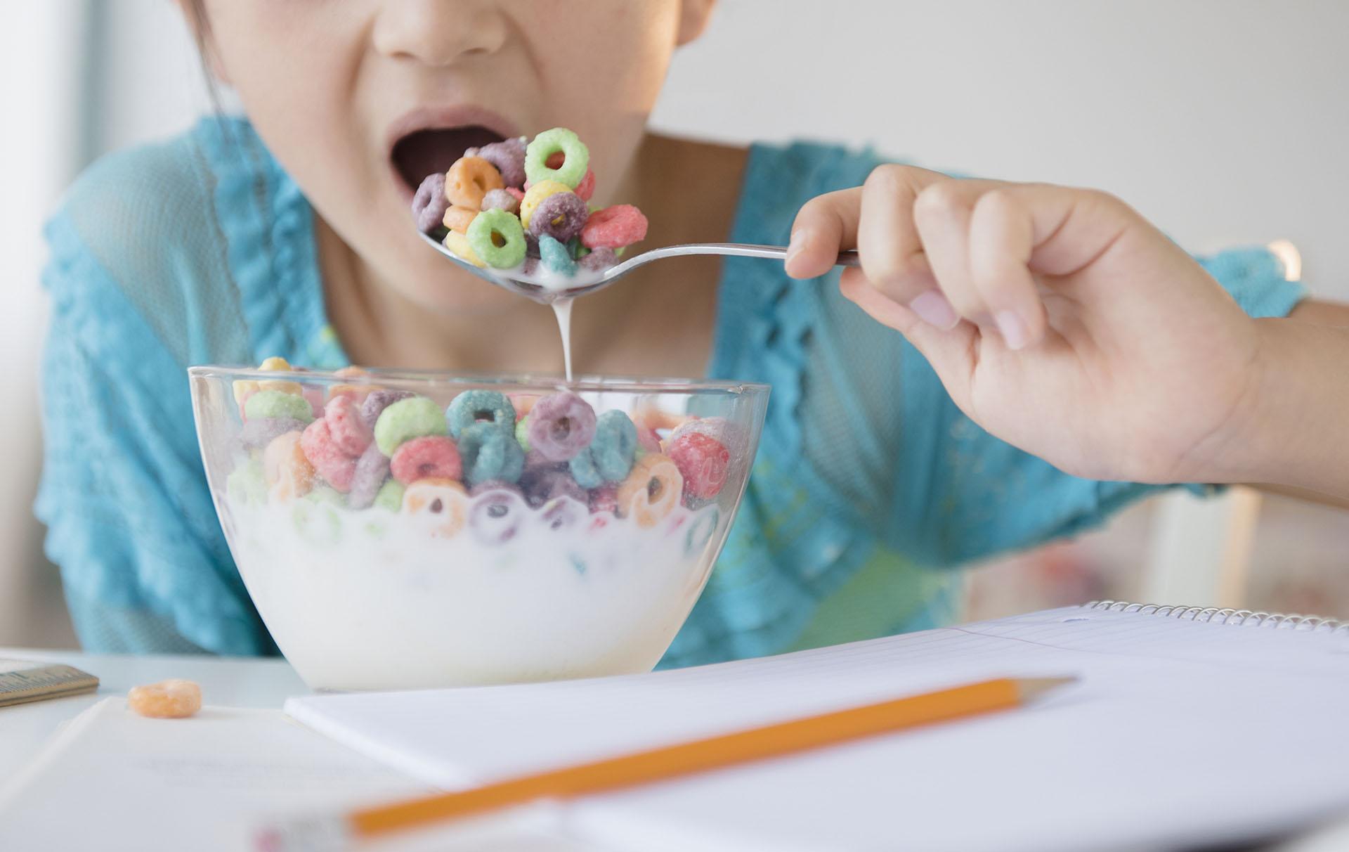 Parents urged to cut children's sugar intake