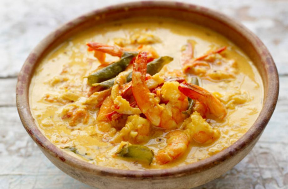 Jamie Oliver\u2019s prawn curry