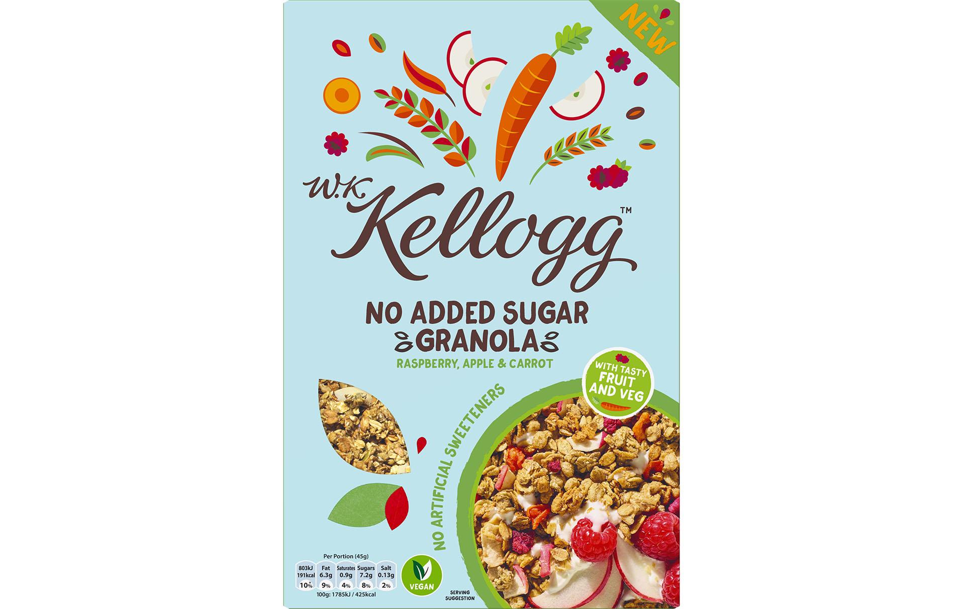 kellogg's carrot granola