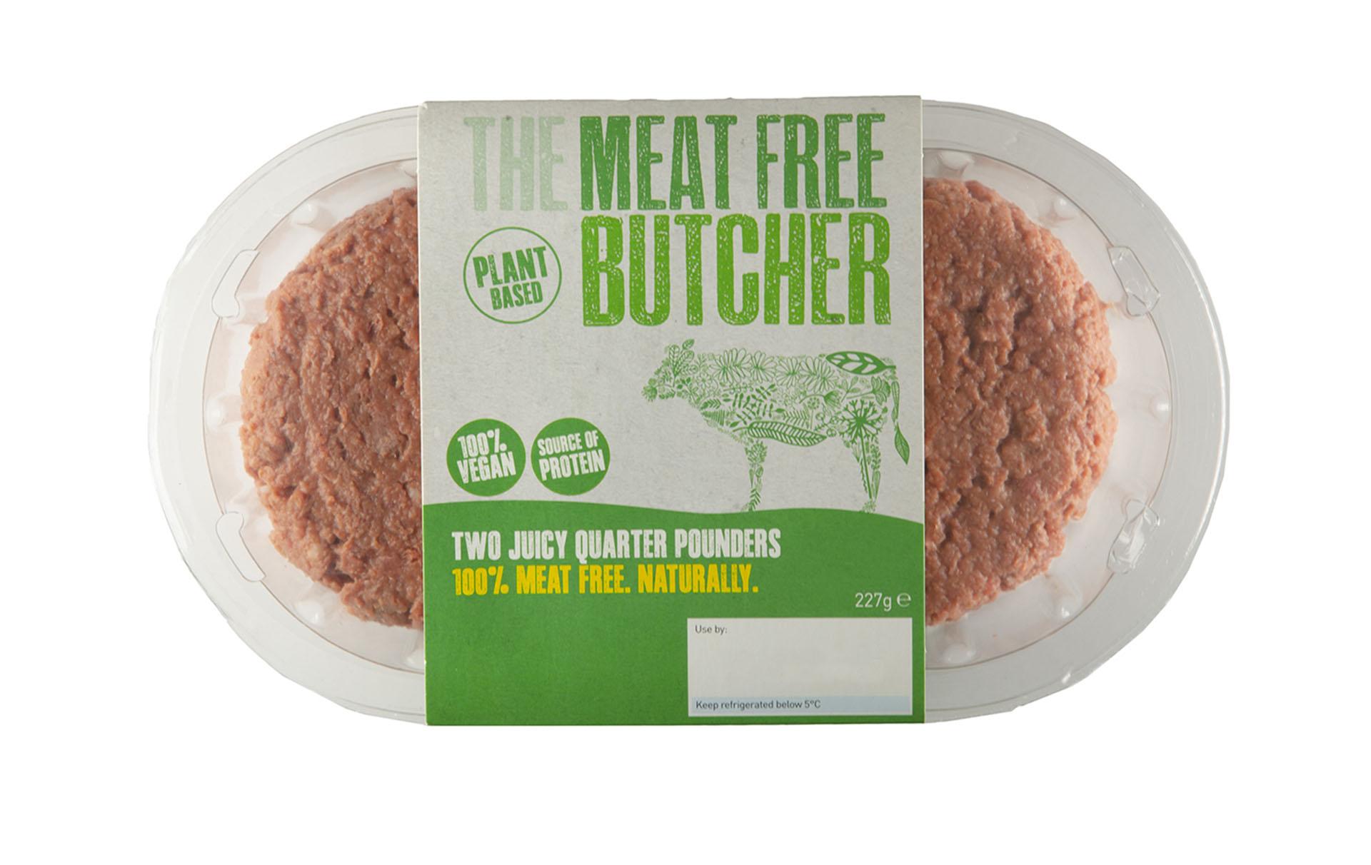 aldi launches vegan burger