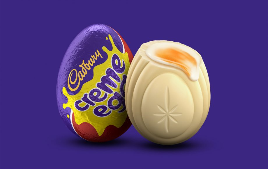 cadbury's white creme egg hunt
