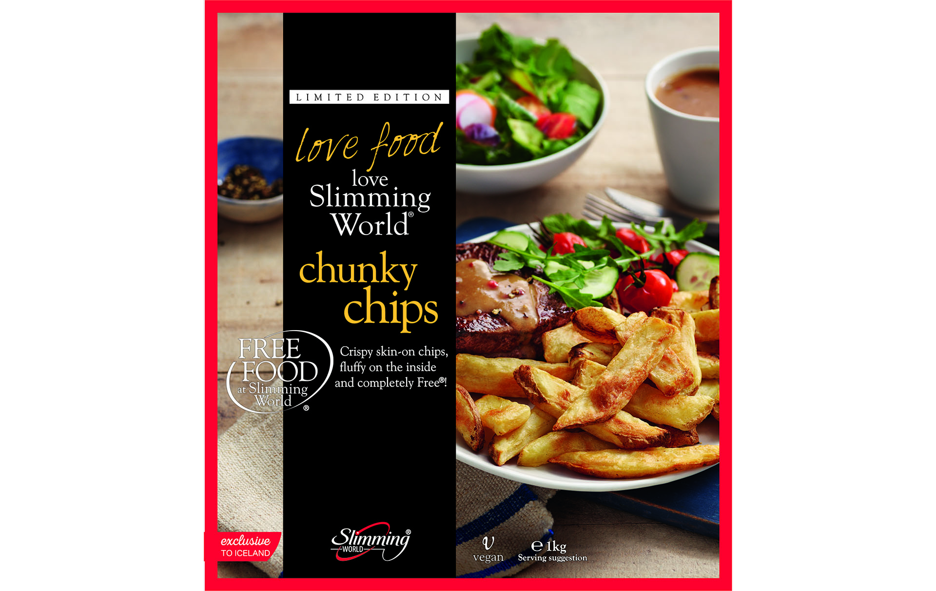 Iceland Slimming World chips