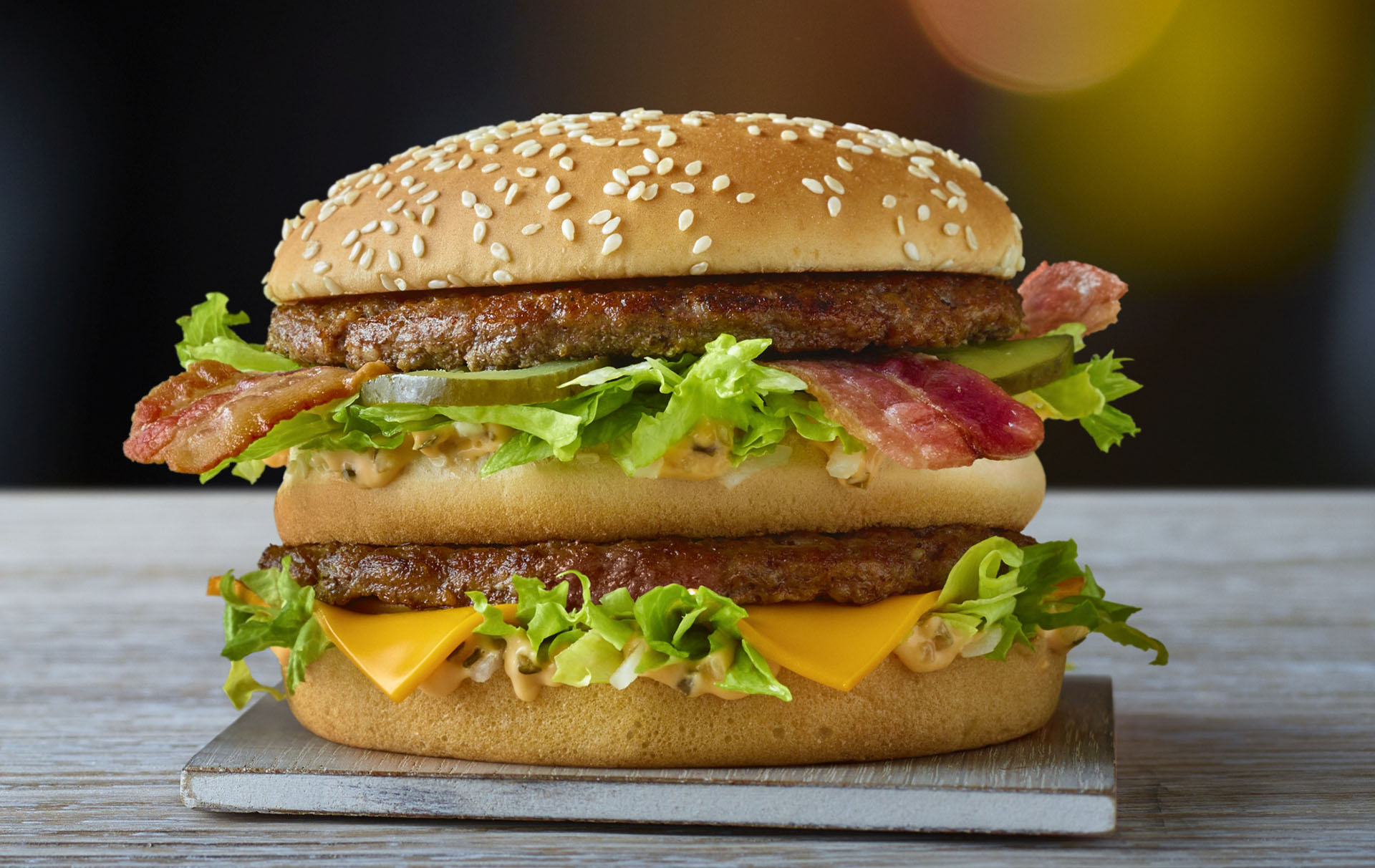 McDonald's big mac bacon