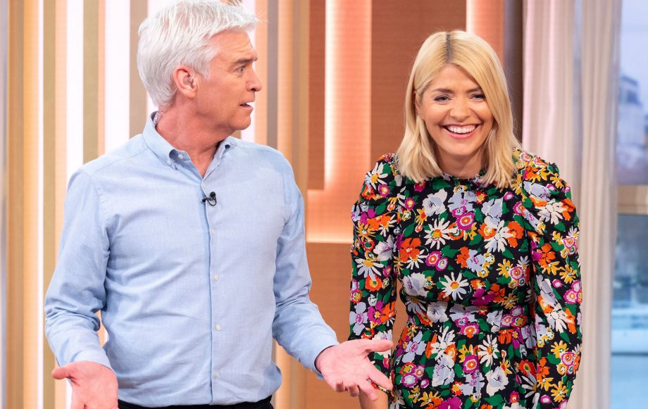 Holly Willoughby four-year-old proposal