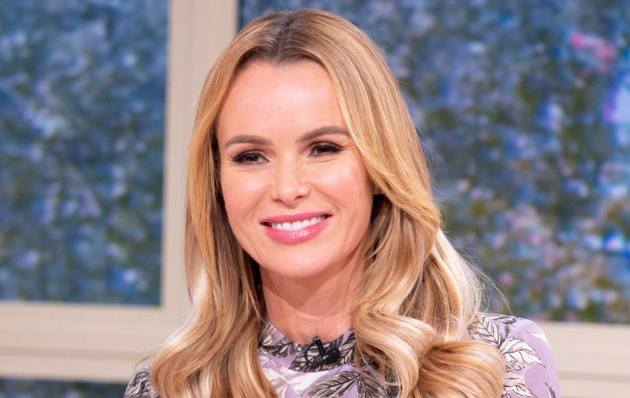 Amanda Holden defends kissing her six-year-old daughter on the lips