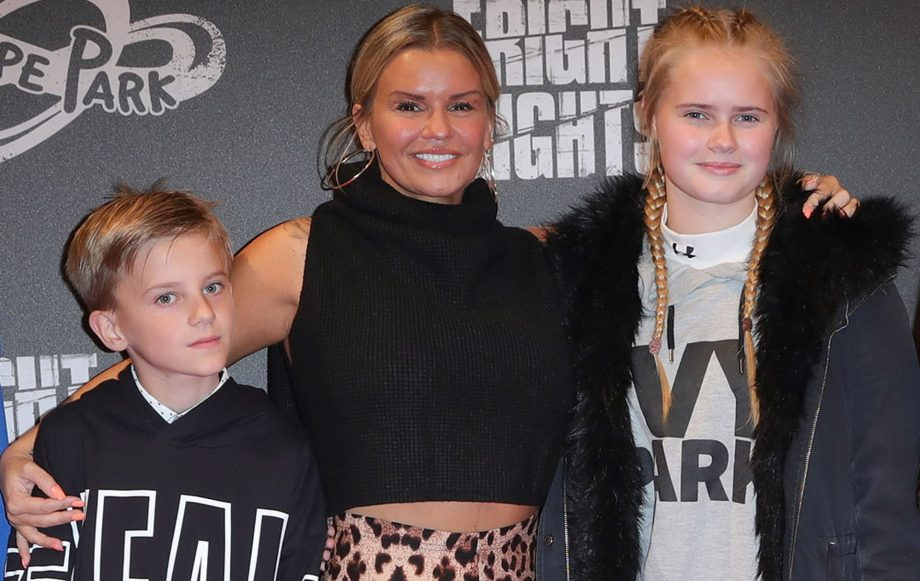 Kerry Katona horrified after her 10-year-old son is beaten