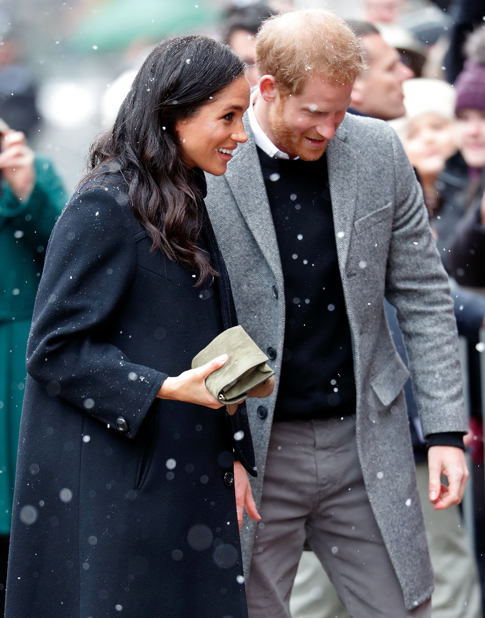 meghan markle feels baby kick