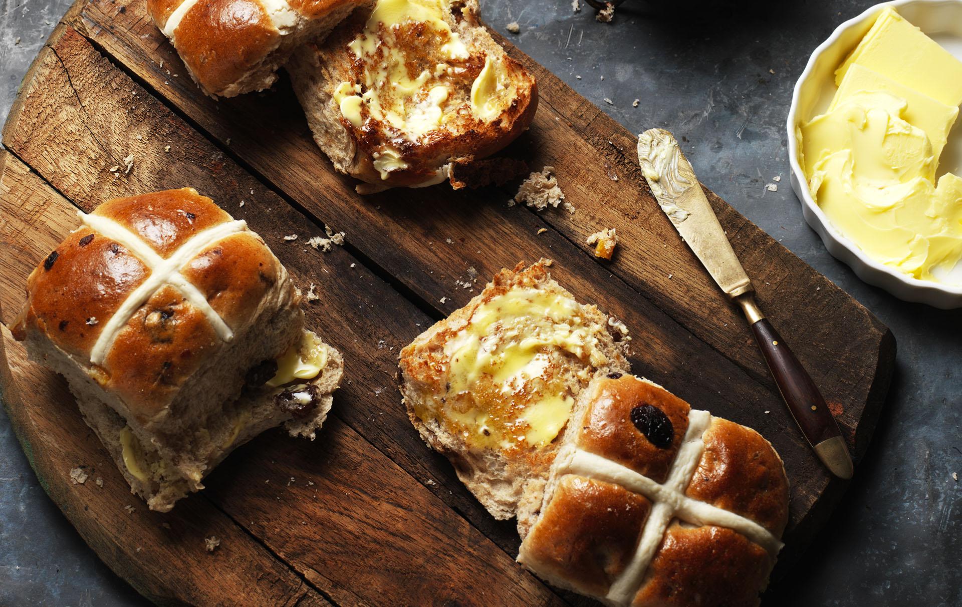 Aldi hot cross buns