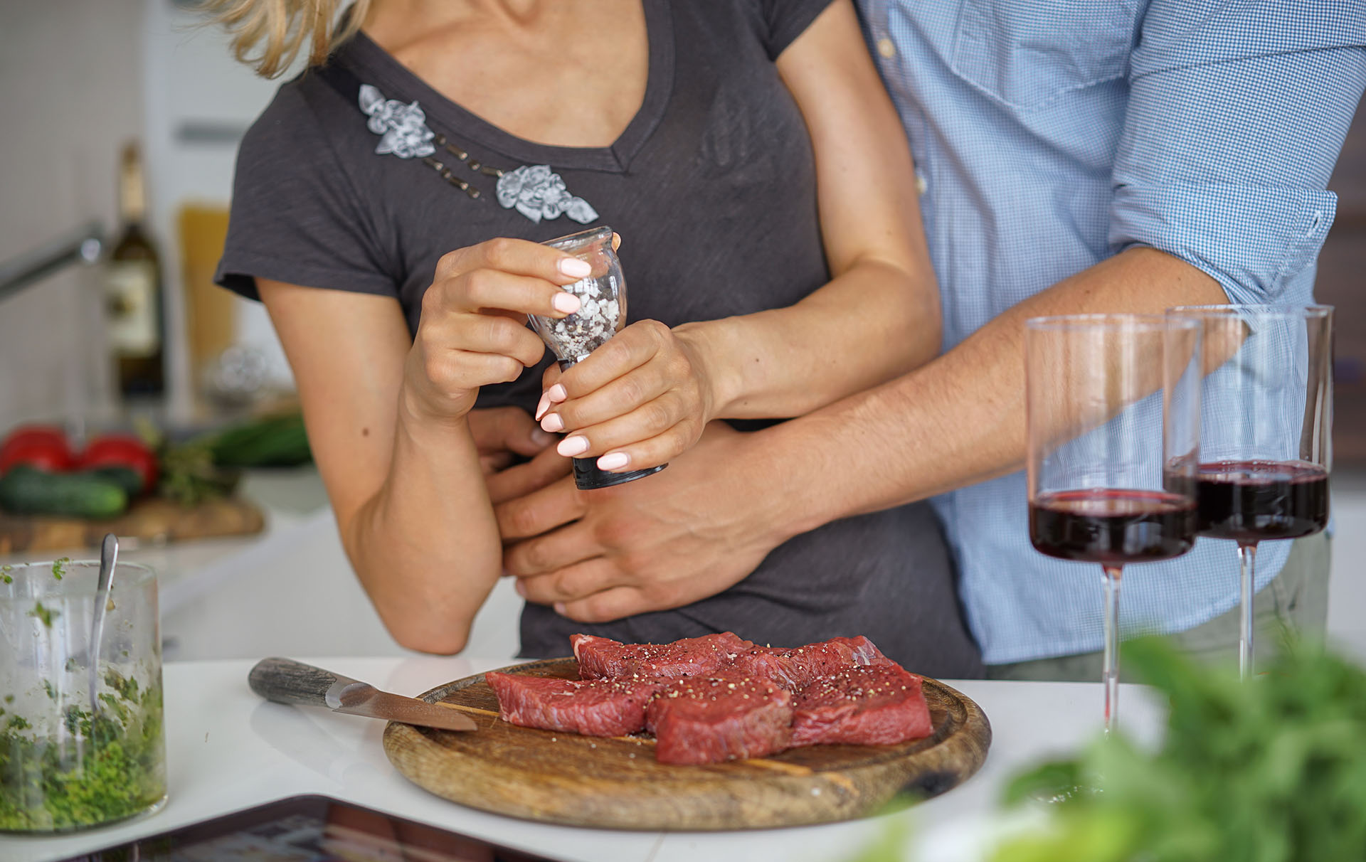 Morrisons Heart Steak valentines