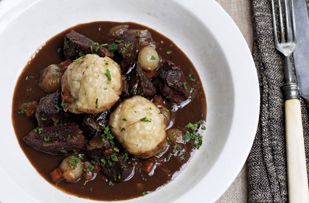 James Martin S Beef Stew With Dumplings Dinner Recipes Goodtoknow