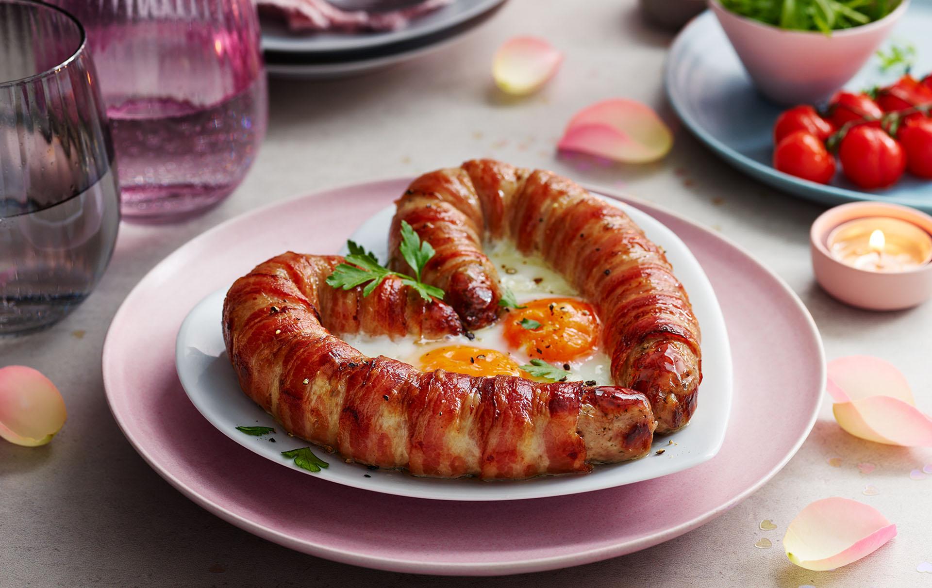 Marks Spencer love sausage