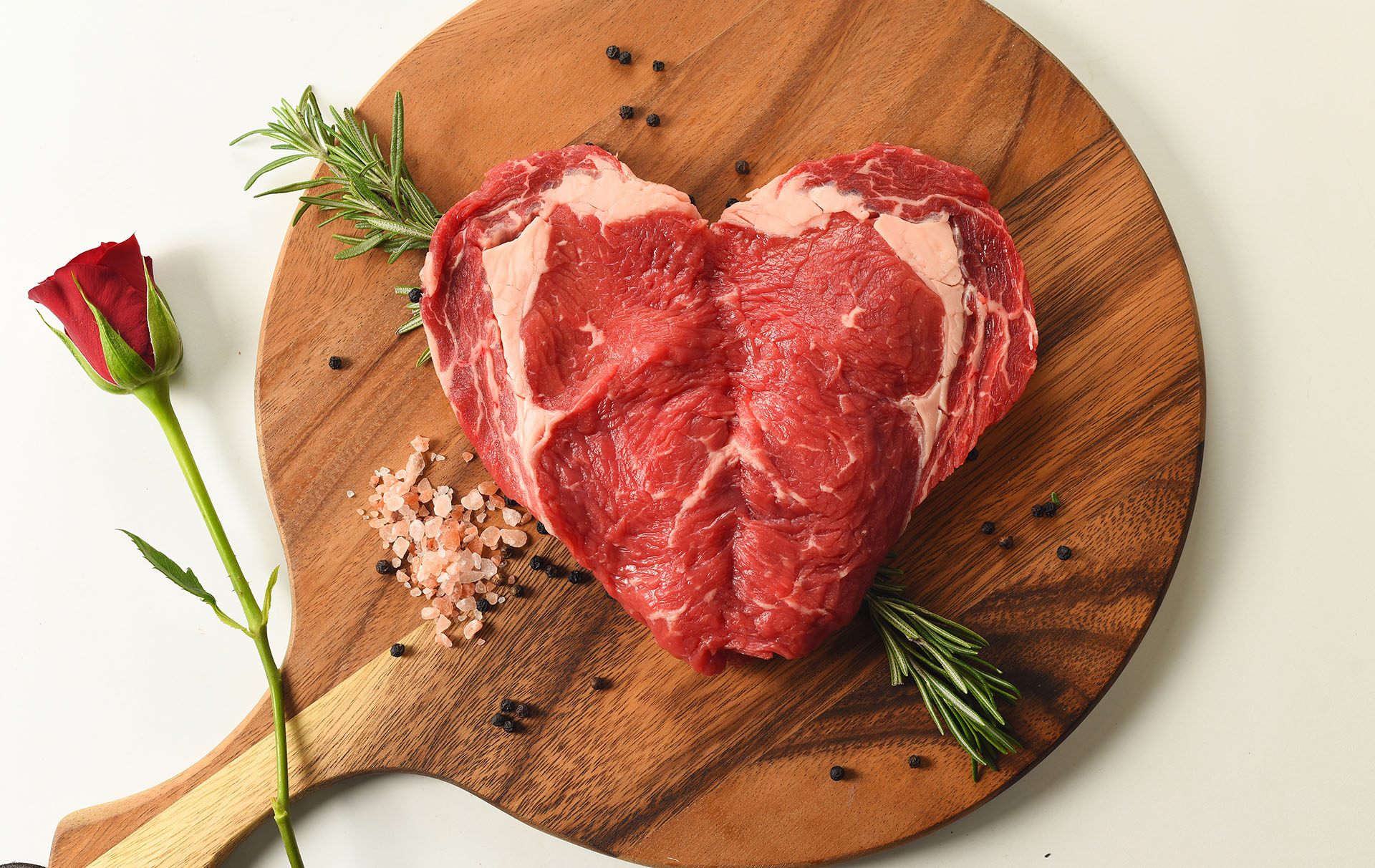 Morrisons Heart Steak valentines