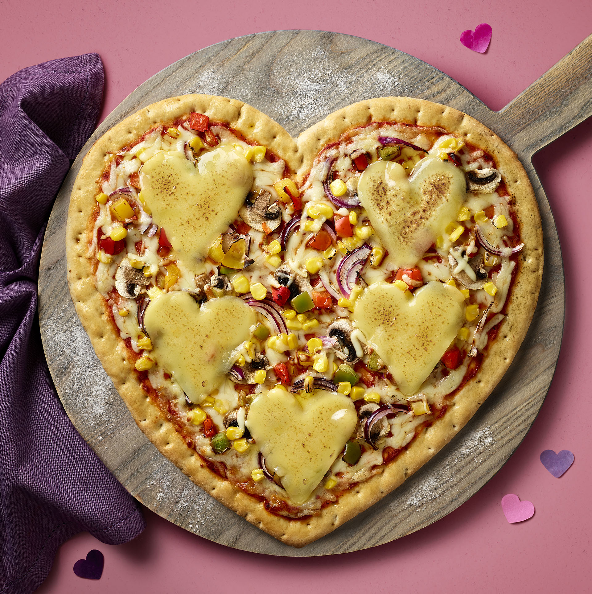 Asda Is Selling A Heart Shaped Pizza For Valentines Day