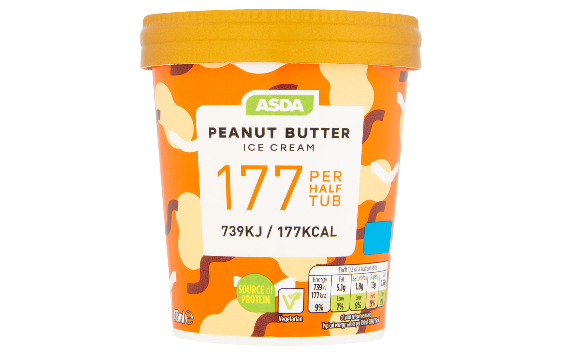 asda low calorie ice cream