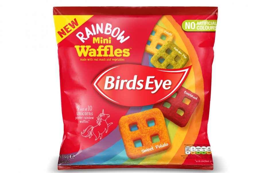 Ocado is selling Rainbow Mini Waffles and we bet the kids will love them