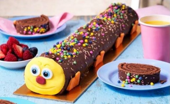 Groovy Asda Is Launching A New Caterpillar Cake And Its A Foot And A Personalised Birthday Cards Veneteletsinfo