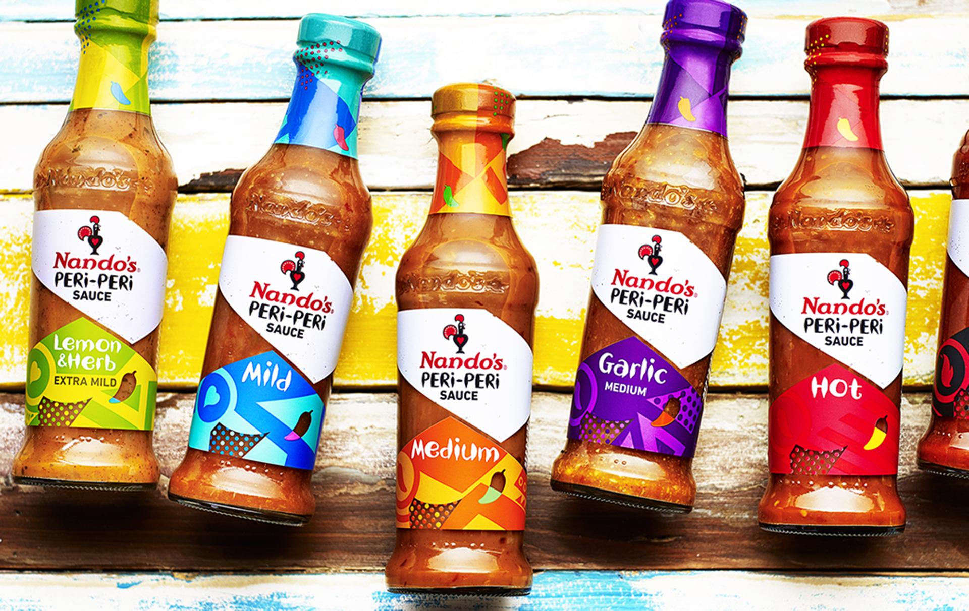 nandos free sauce bottles david