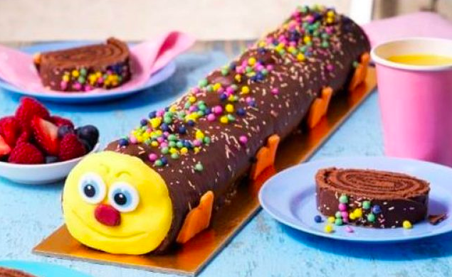 ASDA is launching a new caterpillar cake, and it's a foot ...