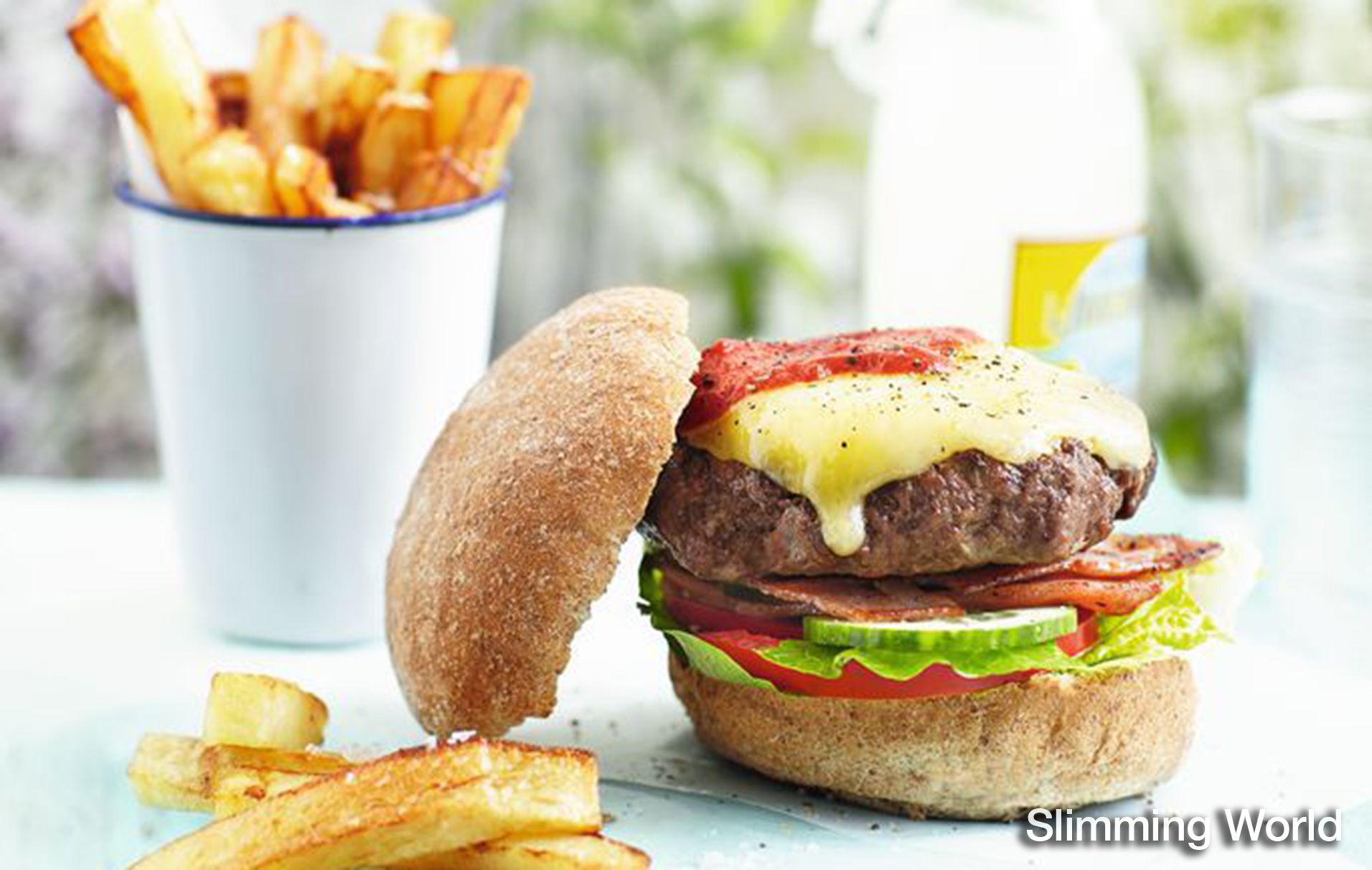 Slimming World S Burger Recipe American Recipes Goodtoknow