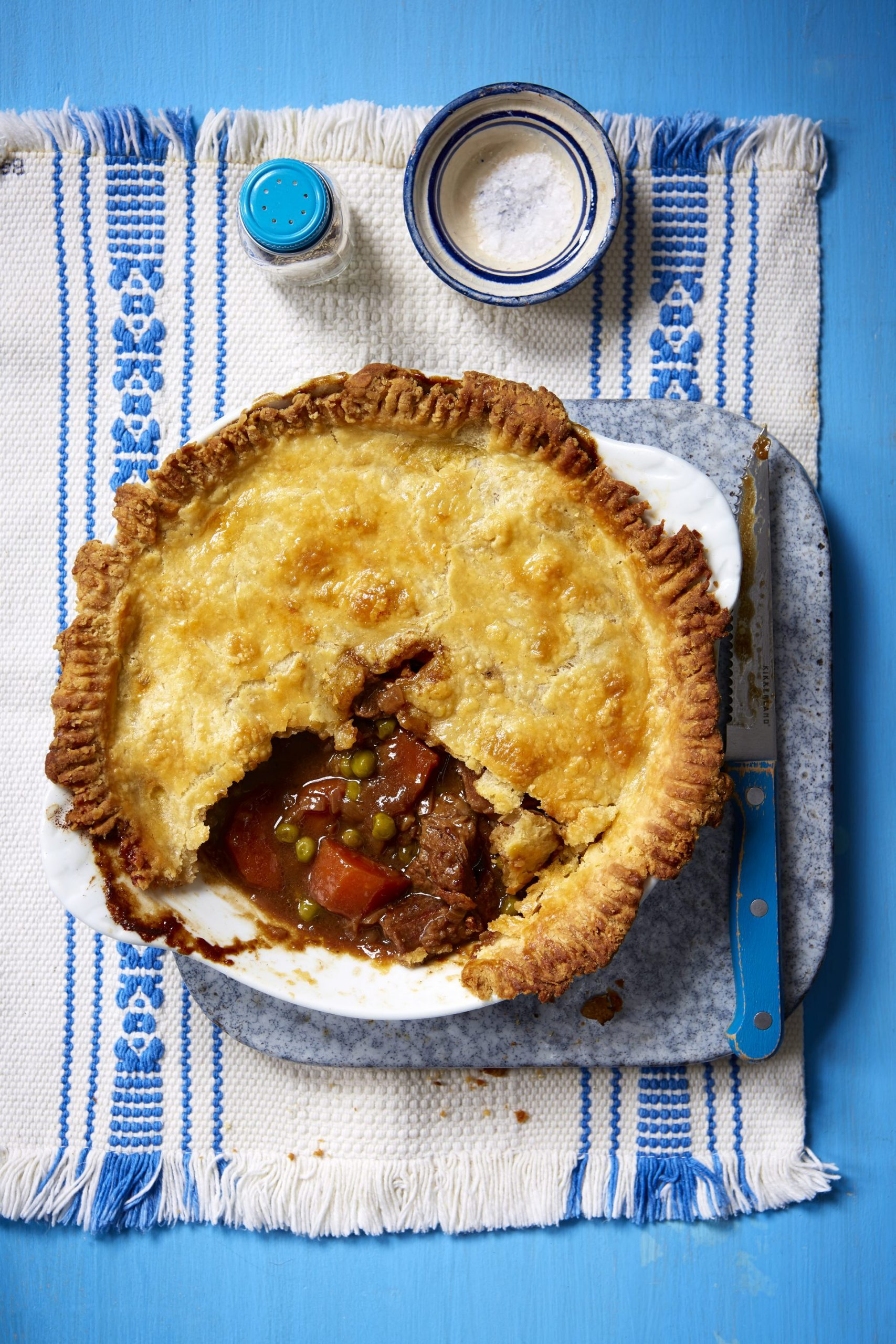 Steak And Ale Individual Pies   Dinner Recipes   GoodtoKnow
