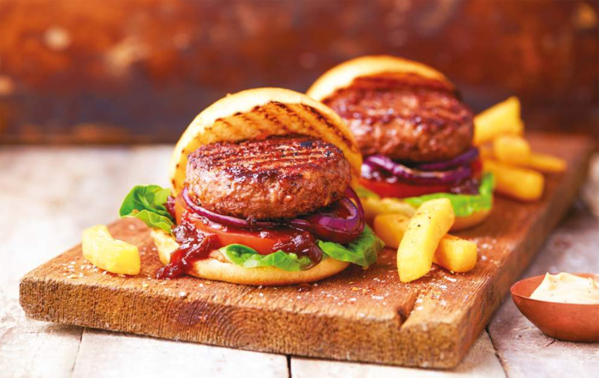 Aldi guinness burger