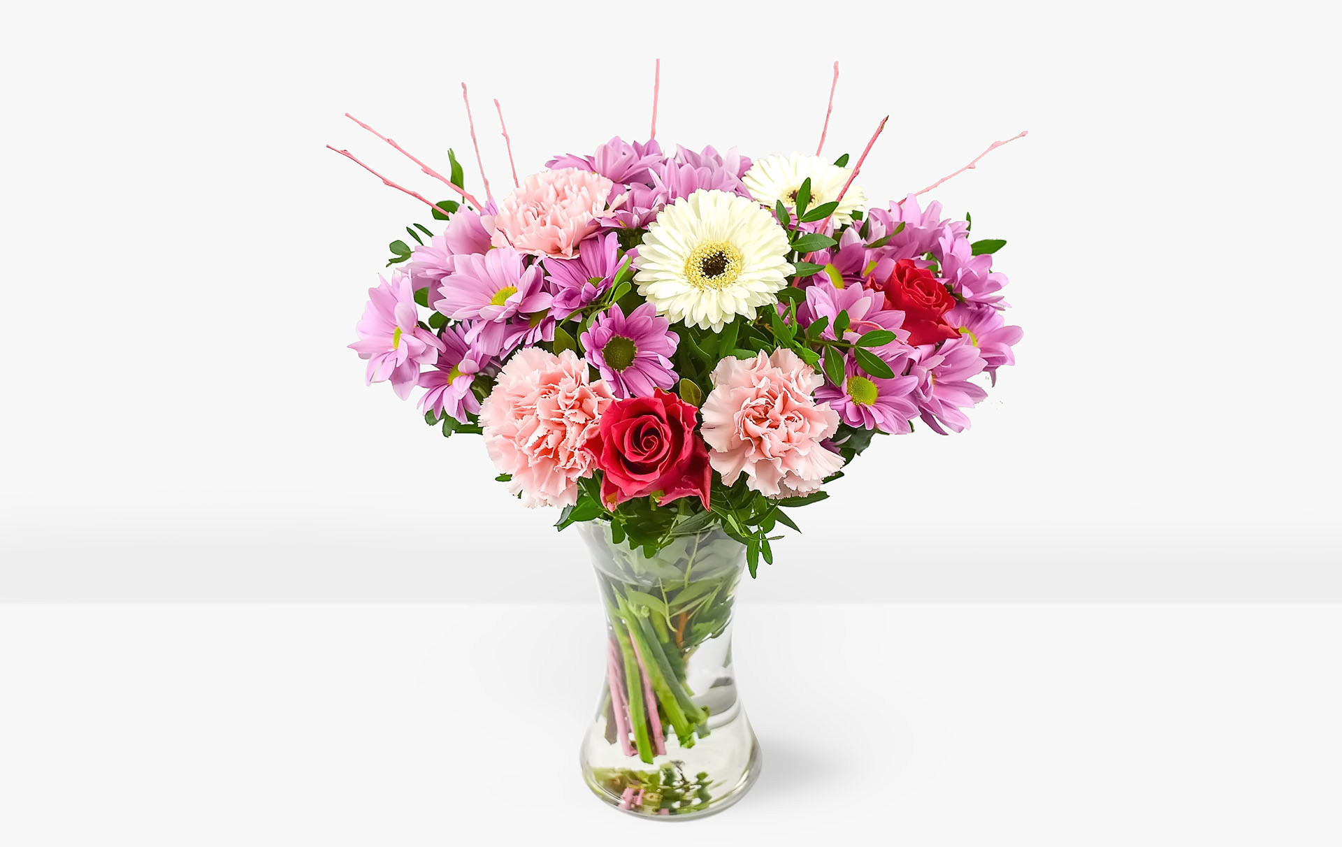b&m flower delivery service