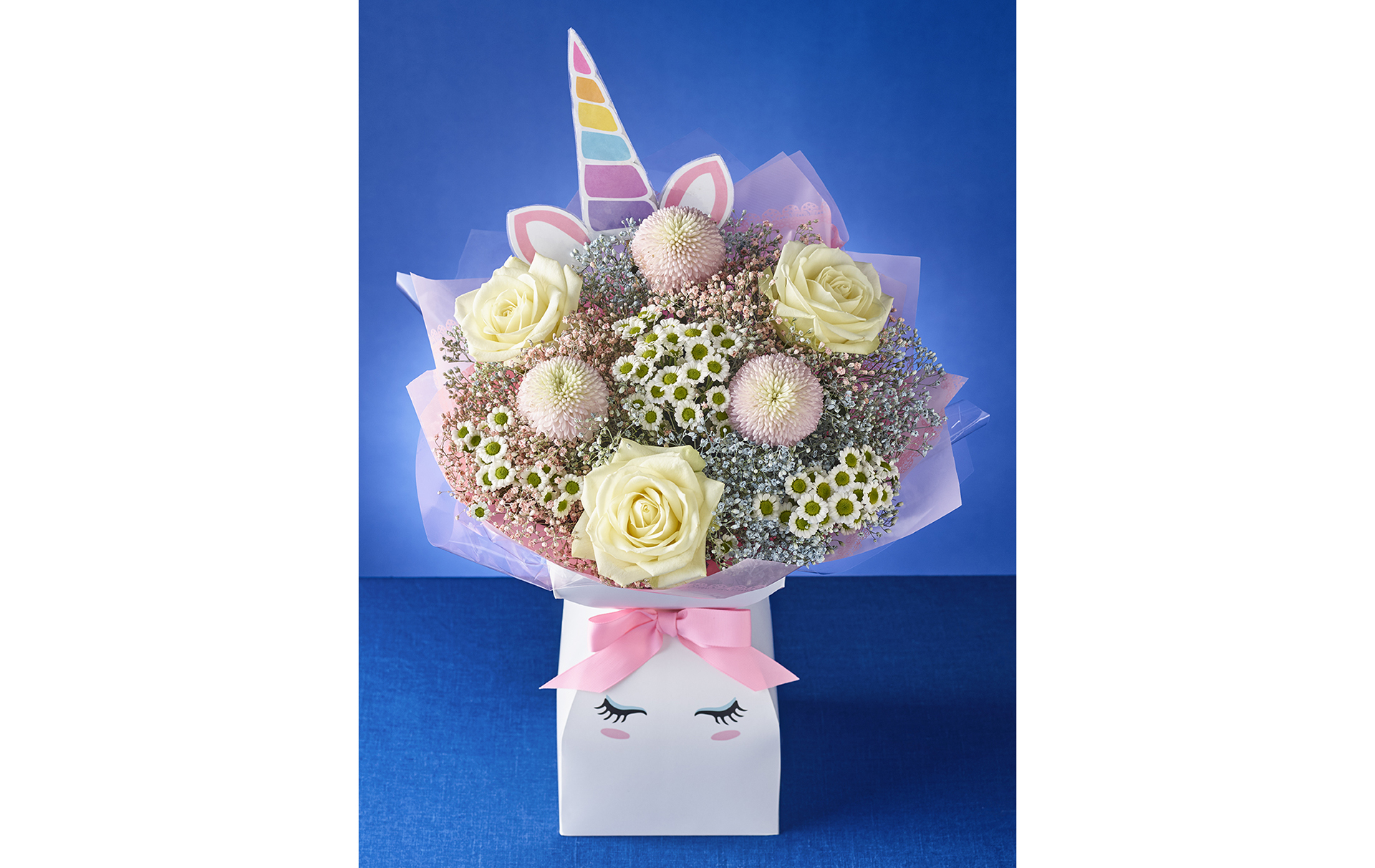 Morrisons unicorn flower bouquet