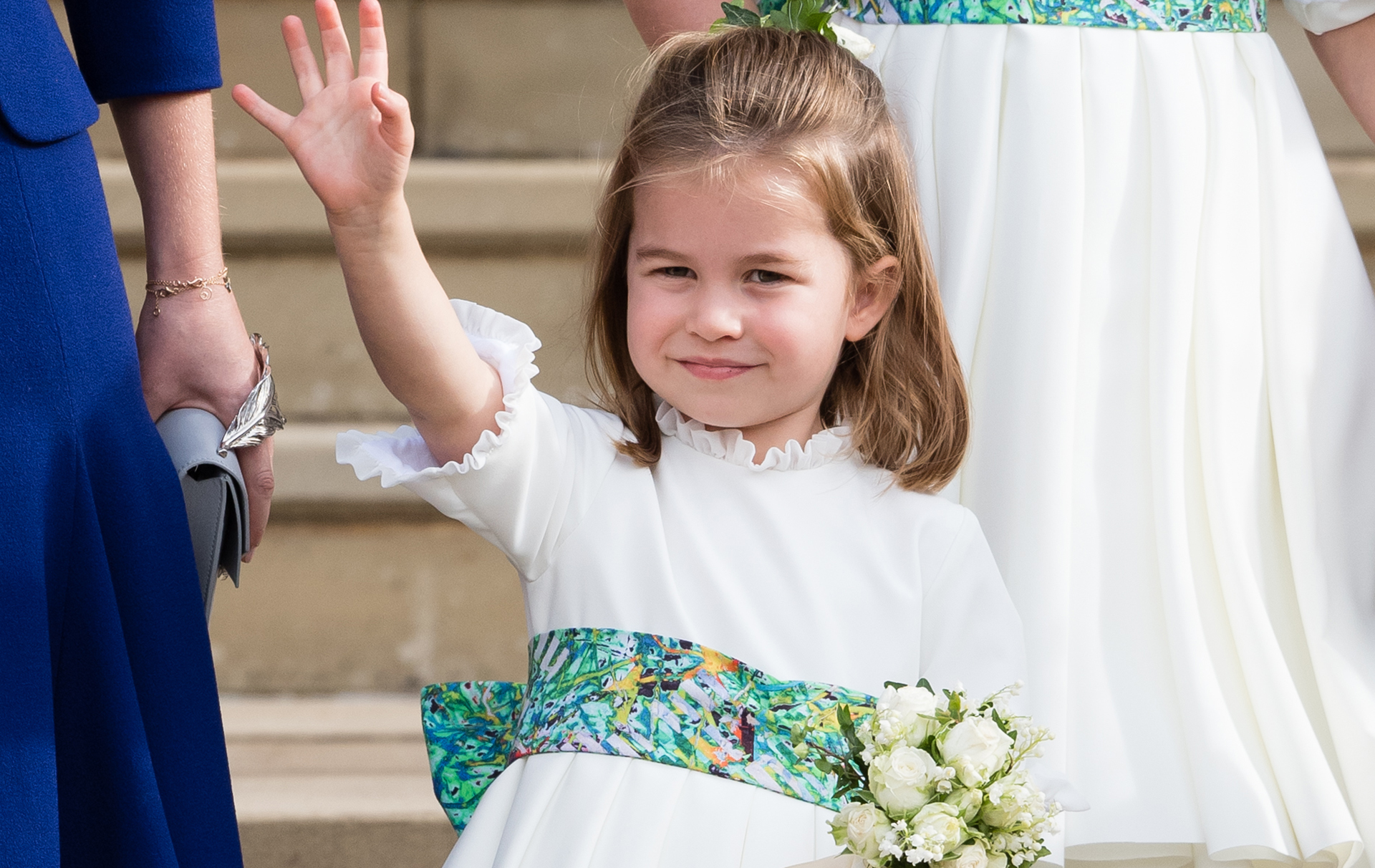 kate middleton queen award eighth wedding anniversary