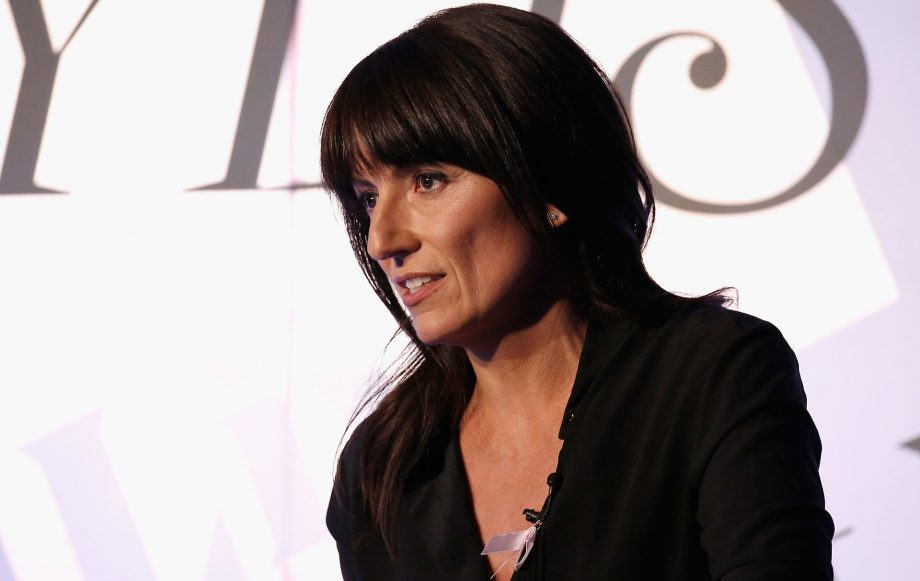 davina mccall tearful sisters death bake off cancer special