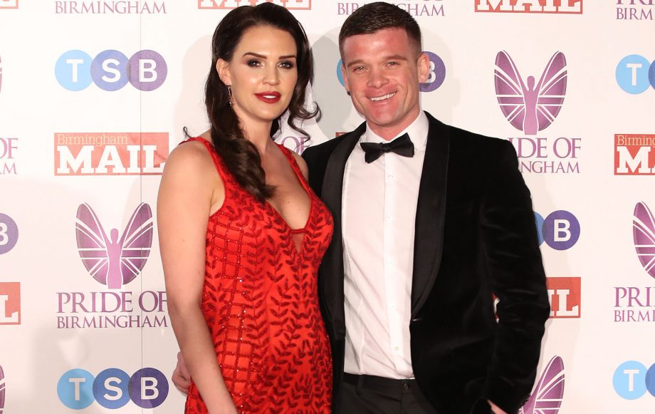 danielle lloyd marries fiance michael oneill