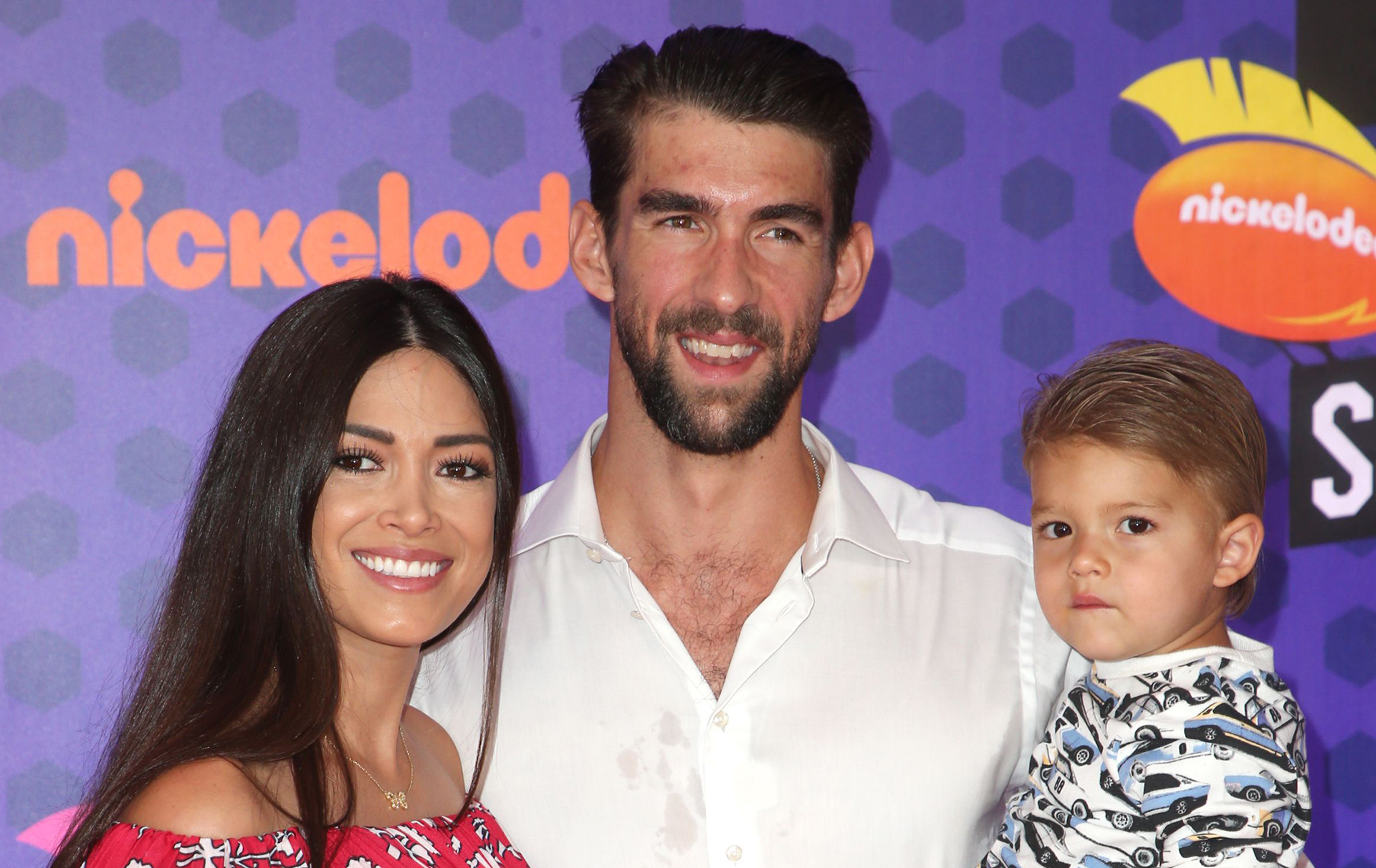 Michael Phelps and family