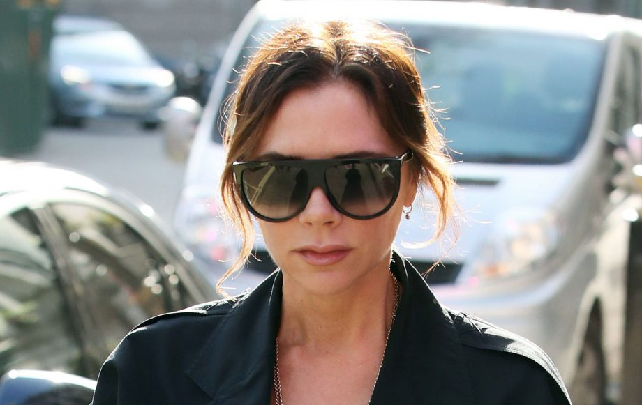 Victoria Beckham took a no-makeup birthday selfie and David shared it with the world