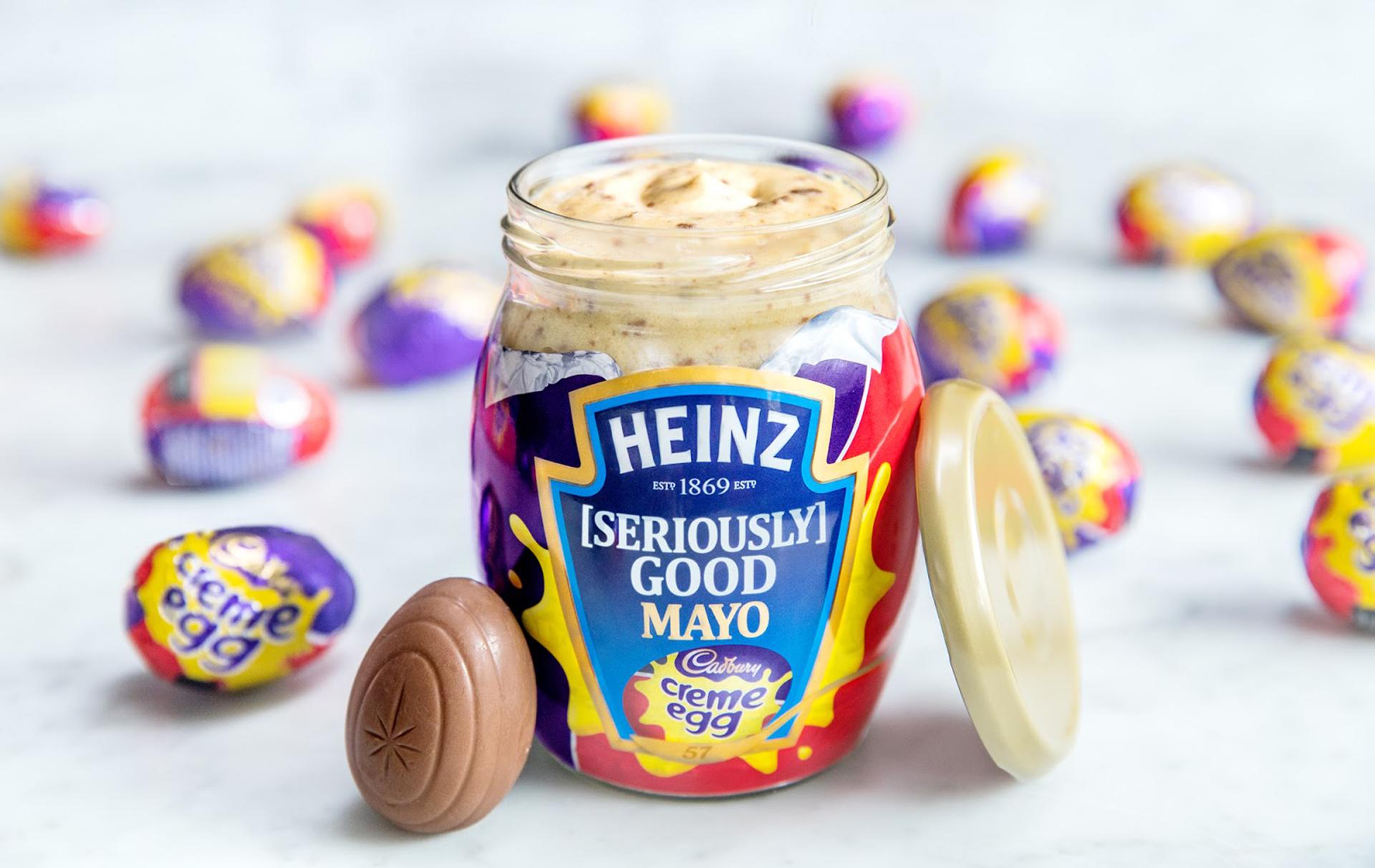 cadbury creme egg flavoured heinz mayonnaise