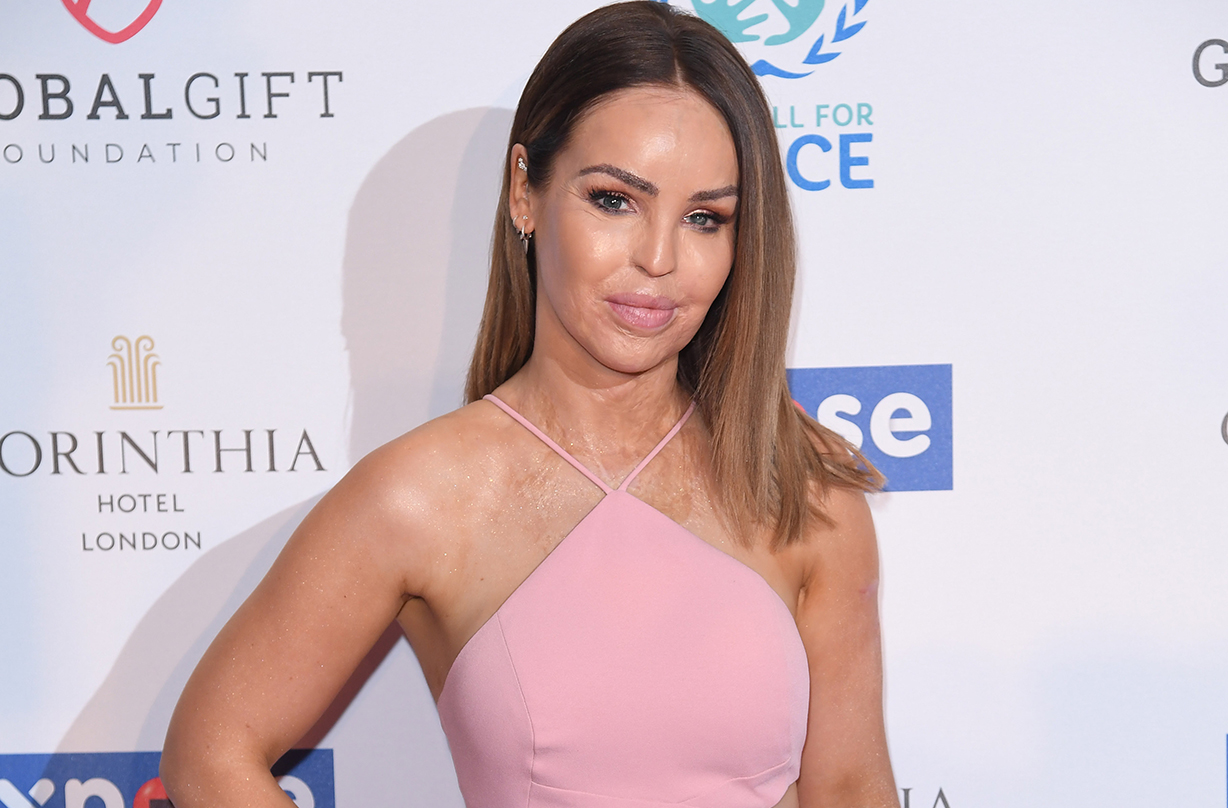 katie piper hospital ignored bad infection