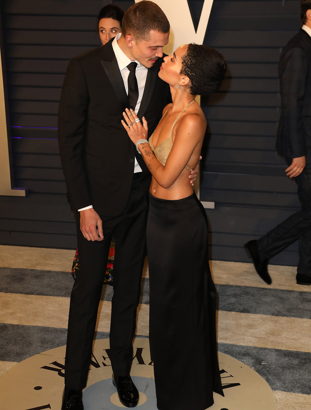 Zoe Kravitz marries Karl Glusman
