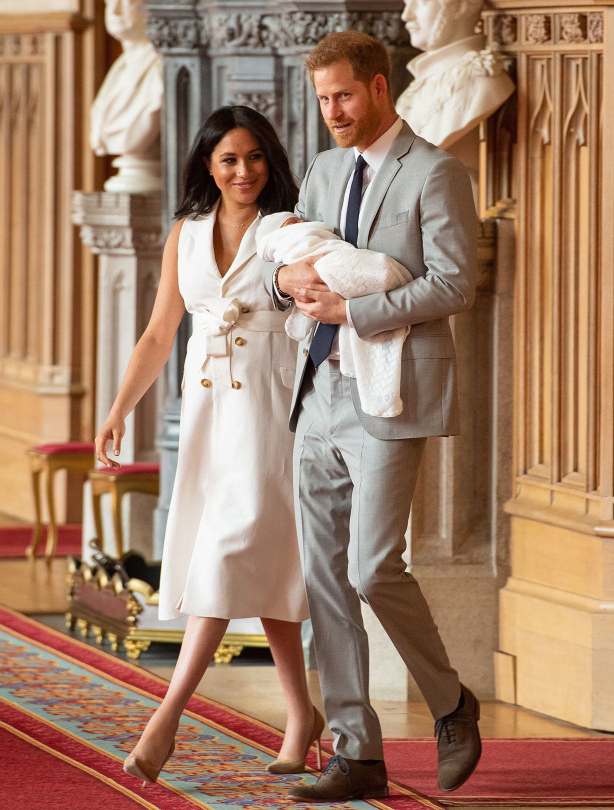 meghan markle prince harry plan archie america trip
