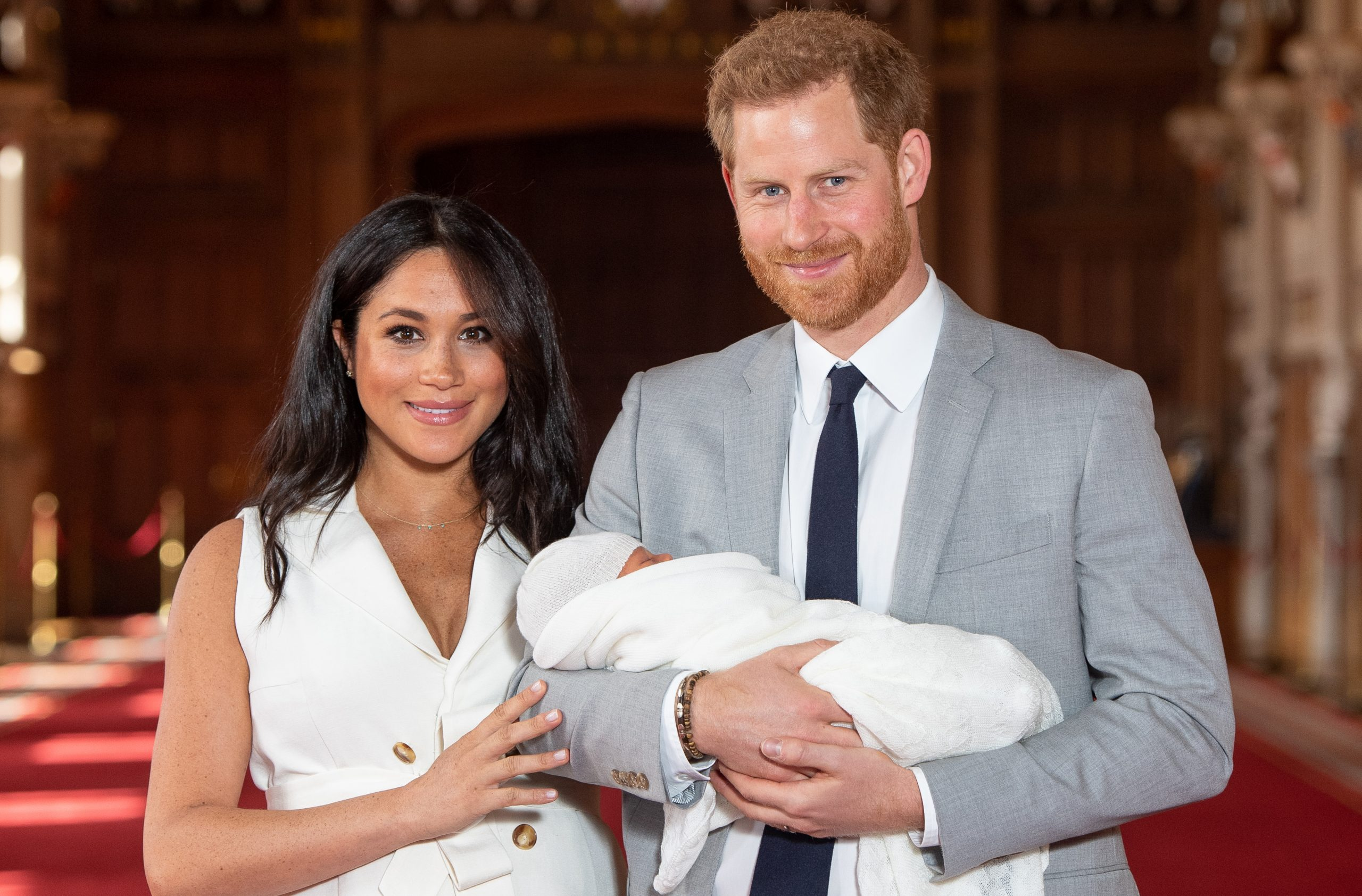 Meghan, Harry and Baby Archie
