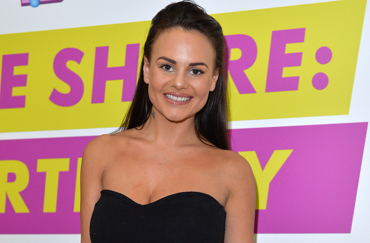 geordie shore chantelle connelly gives birth without knowing