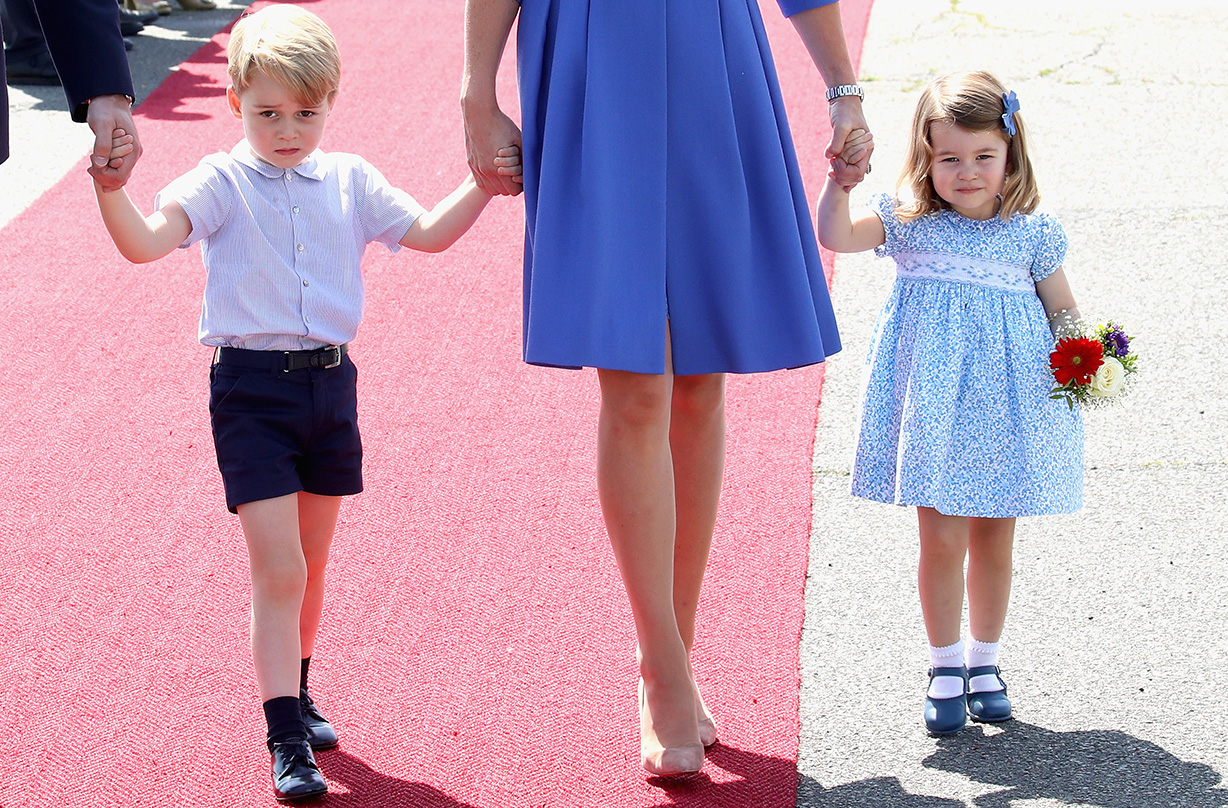 prince george princess charlotte desperate meet baby archie