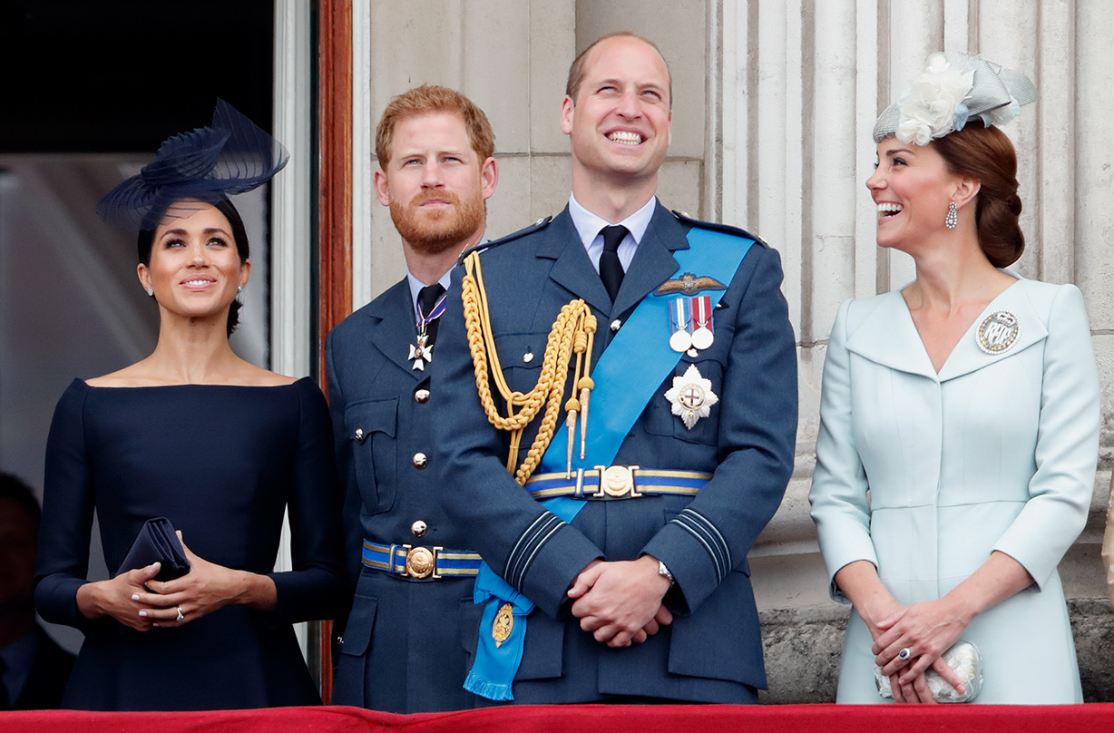 prince william kate middleton sweet message baby sussex